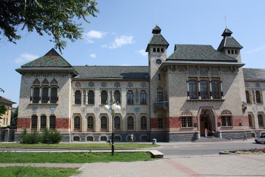Будинок Земської бібліотеки в Полтаві