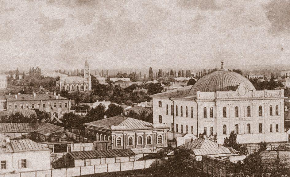 Велика синагога в Полтаві